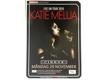 Poster Katie Melua Live on Tour 2010 Cirkus