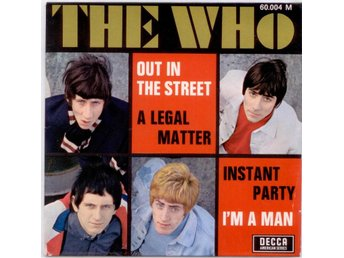 THE WHO - Out in The Street  EP  Frankrike