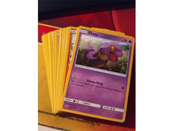 Pokémon TCG - 40st Regular Common/Uncommon från olika set