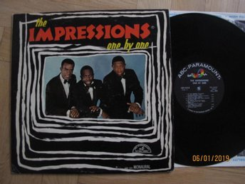Impressions - One by one, US lp 1965