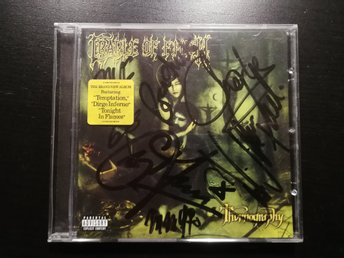 SIGNERAD Cradle of filth - Thornography CD