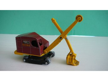 Ruston Bucyrus Excavator - Matchbox Lesney Major Pack No. M-4a