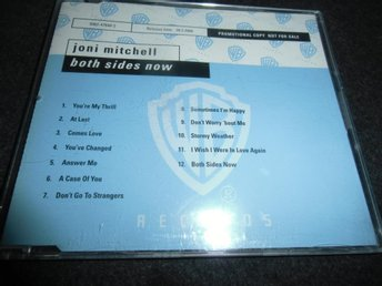 Joni Mitchell - Both sides now - Promo CD - 1997
