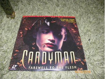 Candyman Farewell to the flesh Deluxe widescreen version 1LD