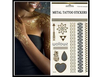 Metal Tattoo Stickers 1