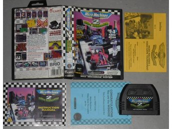 Sega Mega Drive: Micro Machines Turbo Tournament 2 II