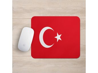 Turkiet Flagga Musmatta Turkey