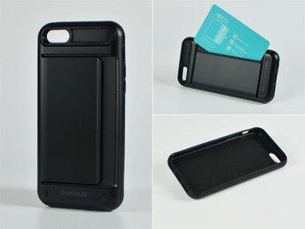 Mobilskal med korthållare till iPhone 5C Svart - Helsingborg - Mobilskal med korthållare till iPhone 5C Svart - Helsingborg