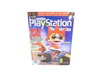 Svenska Playstation Magasinet Nr 21