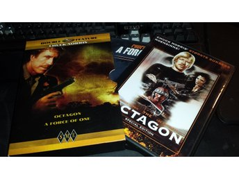 Octagon (1980) / A force of one (1979) 2X Chuck Norris BOX, SPECIAL EDITION