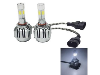 Led Strålkastare 9005 36W 4800LM 6000K  - 2Pack Headlight Lampa
