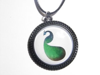 Påfågel Halsband / Peacock Necklace