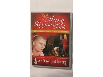 Mary Higgins Clark dvd HAVEN´T WE MET BEFORE? FINT SKICK SVENSK TEXT UTGÅTT