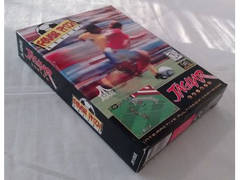 Atari Jaguar Fever Pitch Soccer Box
