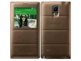 S View FlipCover Samsung Galaxy Note 4 Färg: Guld