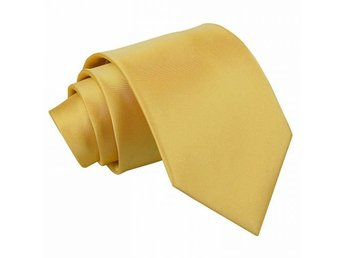 Guld satin slips _ Regular