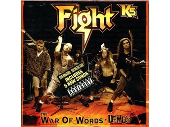 CD -Fight ‎– K5 - The War Of Words Demos