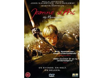 Jeanne d Arc (1999) Luc Besson med Milla Jovovich, John Malkovich - Eskilstuna - Jeanne d Arc (1999) Luc Besson med Milla Jovovich, John Malkovich - Eskilstuna