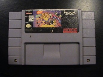 NICKELODEON AAAHH!!! REAL MONSTERS / SUPER NINTENDO SNES / USA IMPORT