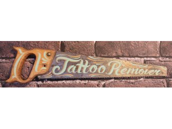 Tattoo Remover såg, julklapp, rockabilly, punk, design, Karbins Custom