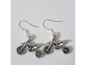 Motorcykel örhängen / Motorcycle earrings