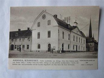 Arboga - Rådhuset, STF nr 28 - Segeltorp - Arboga - Rådhuset, STF nr 28 - Segeltorp