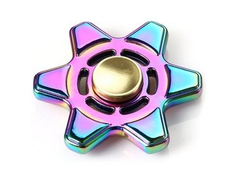 Metal Fidget Spinner Colorful Focus Toy Stress Relievers Toy