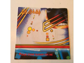 "DEF LEPPARD - POUR SOME SUGAR ON ME. (MVG 7"")"