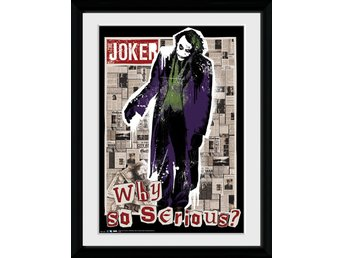 Tavla - DC Comics - Joker Why So Serious