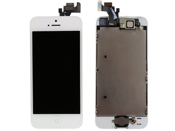 iPhone 5S LCD Display | Skärm | Komplett (vit)