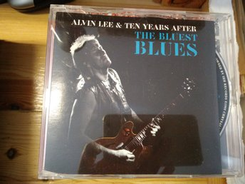 Alvin Lee & Ten Years Later - The Bluest Blues, Promo, CD