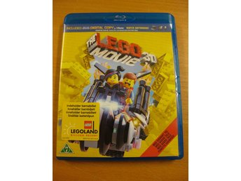THE LEGO MOVIE 3D - BLU-RAY OCH BLU-RAY 3D - 2 DISC