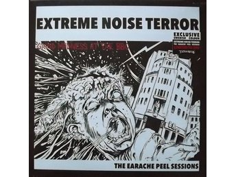 EXTREME NOISE TERROR Grind Madness Swedish exclusive LP