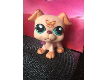 Littlest petshop LPS great dane hund stor
