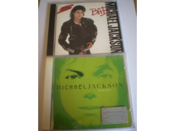 MICHAEL JACKSON - BAD & INVINCIBLE på CD