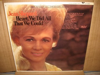 JEAN SHEPARD ´ Heart, we did all that we could ` US