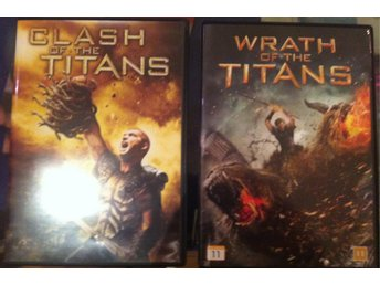 2 DVD, Clash of the Titans + Wrath of the Titans