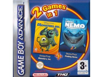 Monsters Inc + Finding Nemo - Gameboy Advance