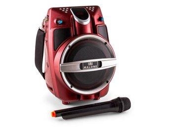 Malone PSP-6AK-RD bärbar multimedia-högtalare Bluetooth FM 30W VHF - Berlin - Malone PSP-6AK-RD bärbar multimedia-högtalare Bluetooth FM 30W VHF - Berlin