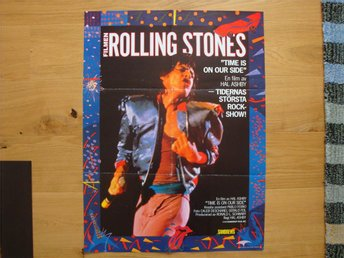 ROLLING STONES - TIME IS ON OUR SIDE 60x80 1982