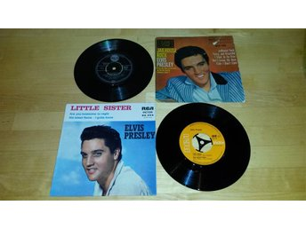 Elvis Presley - Little Sister Jailhouse Rock på köpet!