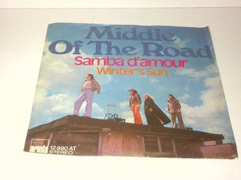 Middle of the road - Samba D'Amour / Winter's Sun, vinyl EP