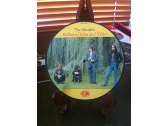 "THE BEATLES ""THE BALLAD OF JOHN AND YOKO"" - PIC DISC !"