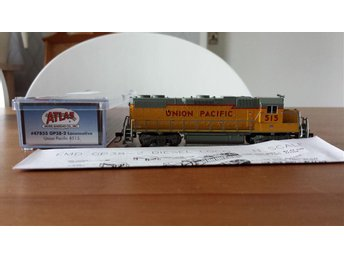 Atlas 47855 GP38-2 Union Pacific 515 i Kartong