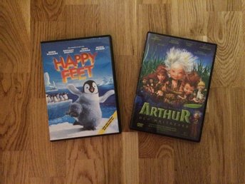 Dvd film Happy feet Arthur
