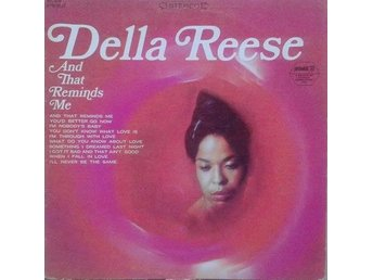 Della Reese title* And That Reminds Me* Jazz, Funk / Soul US LP