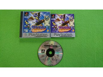Spyro 3 Year of the Dragon SVENSK UTGÅVA KOMPLETT Playstation PSone