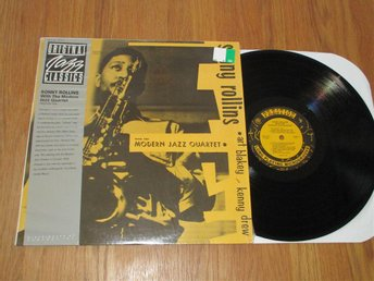 SONNY ROLLINS WITH THE MODERN JAZZ QUARTET LP