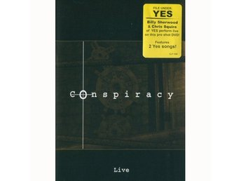 Conspiracy (Chris Squire/Billy Sherwood/Yes) -Live dvd S/S