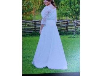 Vacker brudklänning från Lilly storlek 46 - Morgongåva - Vacker brudklänning från Lilly storlek 46 - Morgongåva